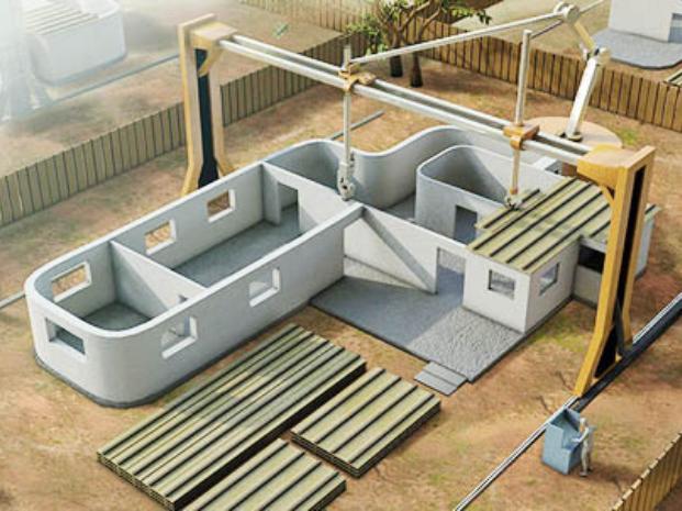 Impresión De Casas En 3D